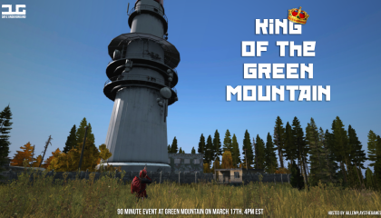King of Green Mountain (King of the Hill Event) – March 17th
