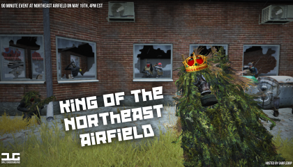 King of Northeast Airfield. May 19th 16:10 EST
