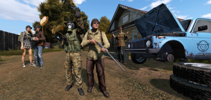 The Black Sheep are a friendly group that help passerby's in Guglovo and defend their town in DayzUnderground.