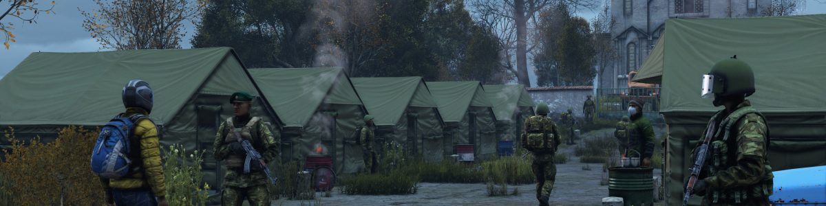 A camp of the DayzUnderground group CFD.