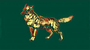 "The banner of the Golden Jackals. Dogs and dog-like creatures are seen as ""unclean,"" in many Arab countries. Sayid's business was successful, but not a clean business."
