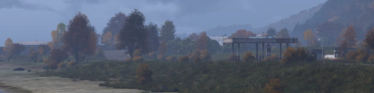 Waking up on the shores of Chernarus, DayZ's vast map.