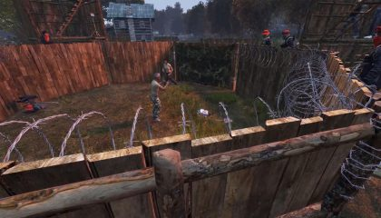 The Golden Jackals organized a FIght club event in the dayz underground server