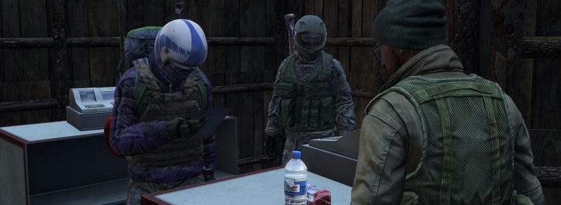 RISE operates the Kay Mart trading post in DayZ Stary Sobor