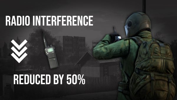 DayzUnderground mod reduces radio noise