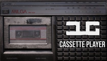 Cassette Player Mod by Arkensor and DUG Release Trailer