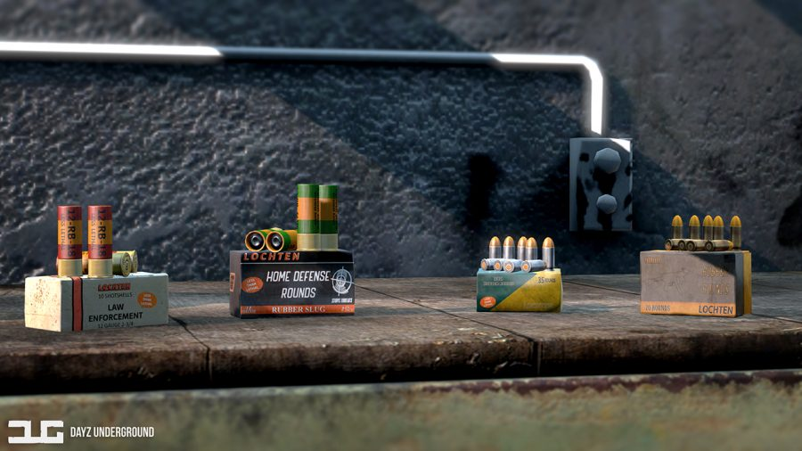 The DayzUnderground mod adds less than lethal rubber bullets for shotguns and small calibres.