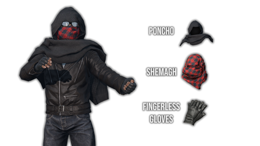 Windstride's poncho and shemag come to DayzUnderground with new variants