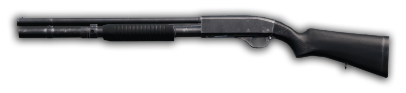 A polymer police shotgun variant is part of the DayzUnderground mod.