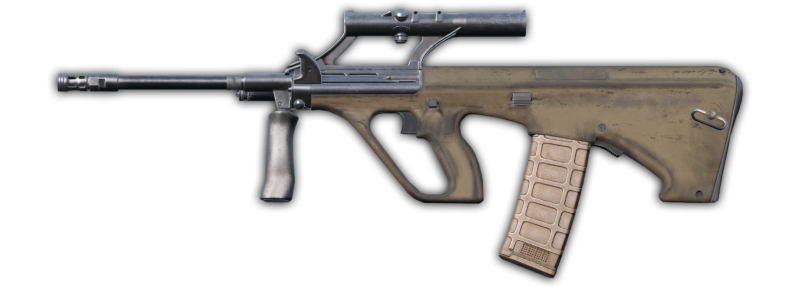 DUG mod adds a tan AUG to DayZ
