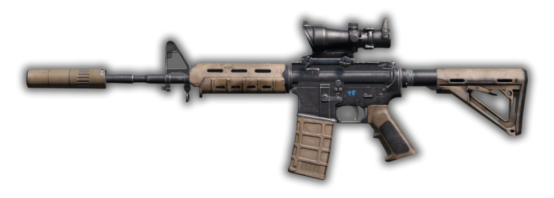 DayzUnderground adds a new tan m4 modelled after the MK18 Mod 1 to DayZ