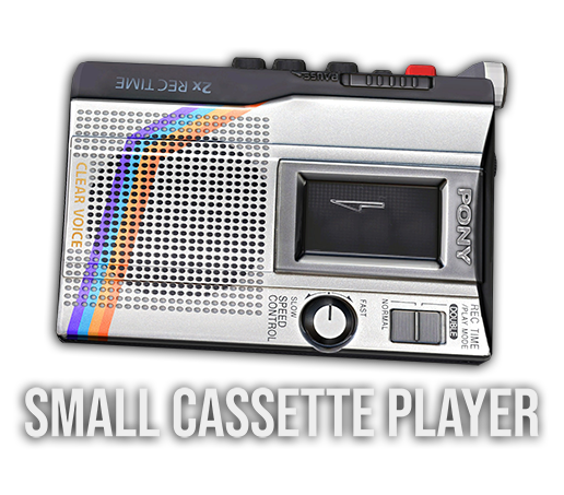 A new small cassette player for DayZ