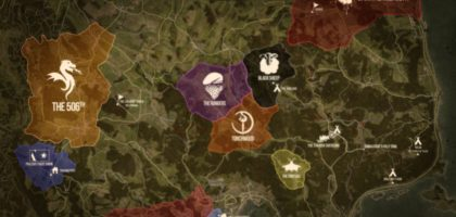 DUG Territory and POI Map – July 2020