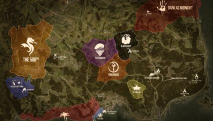 DUG Territory and POI Map – July 2020