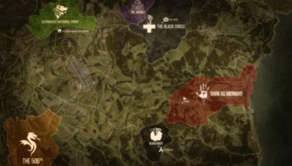DUG Territory and POI Map – June 2020