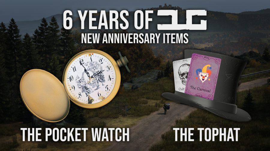 6 years of DUG anniversary items