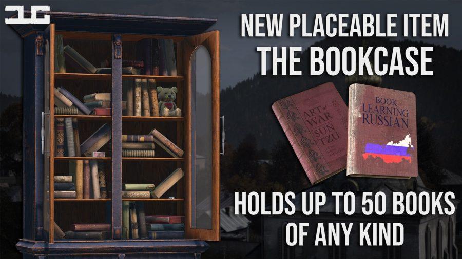 Dayzunderground adds a bookcase