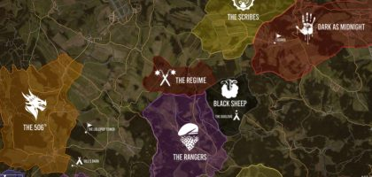 DUG Territory and POI Map – March 2021